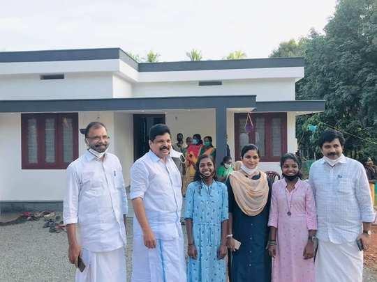 Kavya and Karthika New House