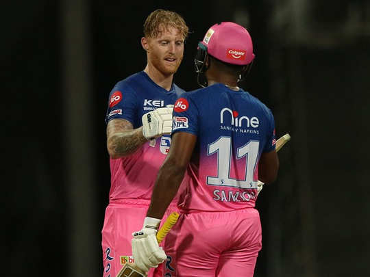ben stokes first ipl century and sanju samson fifty help rajasthan royals to beat mumbai indians see how rr won thrilling match