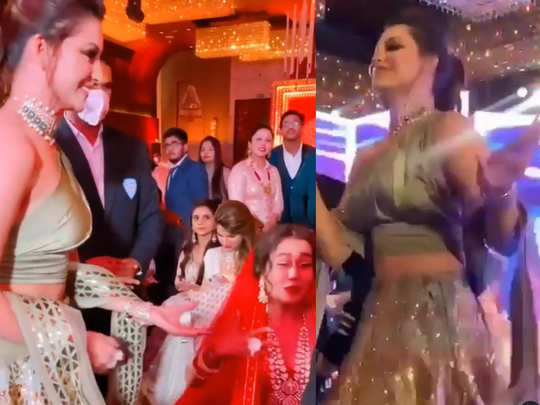 Urvashi Rautela danced in Neha Kakkar wedding