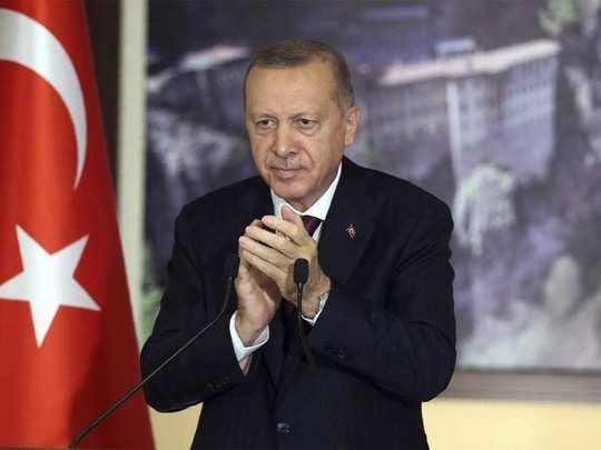 तुर्की के राष्ट्रपति एर्दोगन