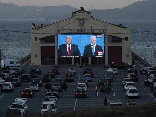 US ELECTION TV DEBATE