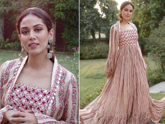 mira rajput looks elegant and beautiful in punit balana pink dress