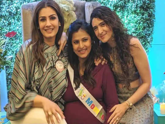 raveena tandon birthday: raveena tandon adopted 2 daughters at age of 21 people would says who will marry you now