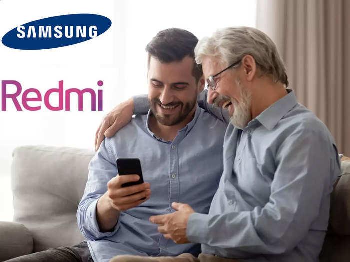 samsung galaxy m01 core and redmi 8a dual smartphone