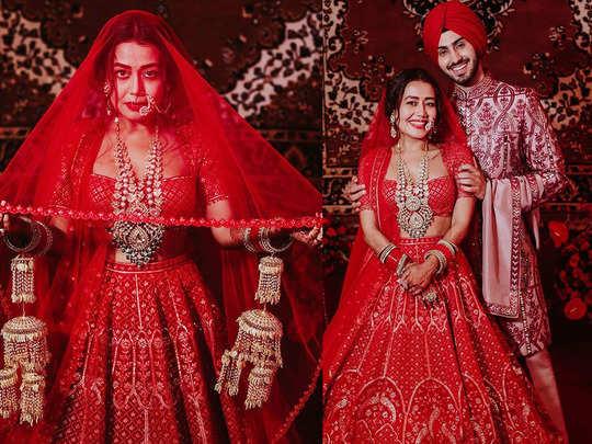 newly wed neha kakkar shares exclusive inside photos from her wedding calls herself as rohanpreet ki dulhaniya