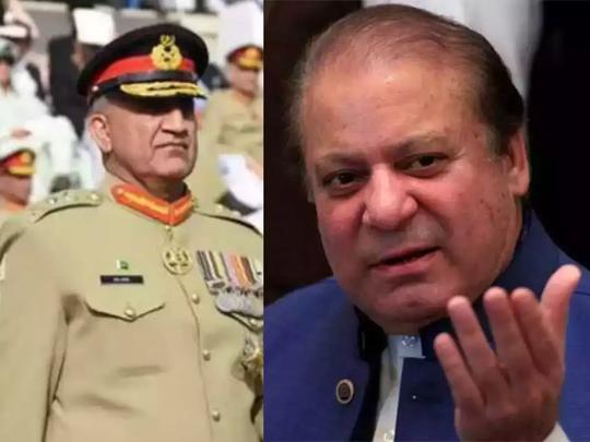 Nawaz Sharif vs Pakistan Army