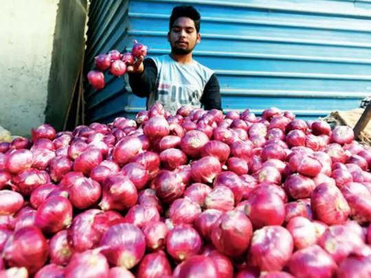 onion wholesale price in azadpur mandi range between 45-50 rupees per kilo