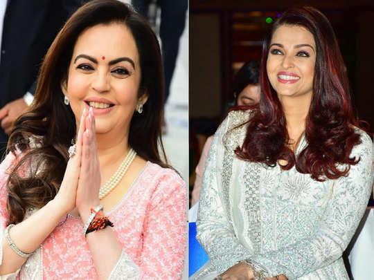 aishwarya rai bachchan to nita ambani and kareena kapoor celebs love for chikankari work