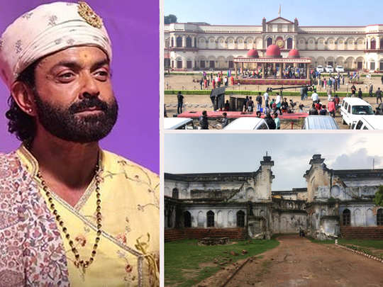 prakash jha shares the story of bobby deol starrer ashram which was ruinous palace called raj sadan ayodhya before shooting