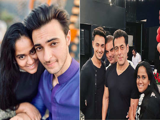 salman khan sister arpita khan sharma celebrates her husband aayush sharma birthday in a sweet way you can take the tips