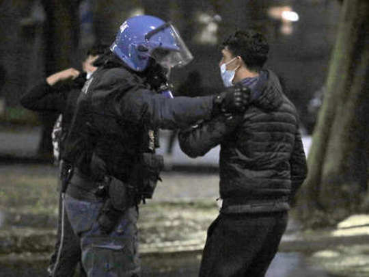 Italy-protest