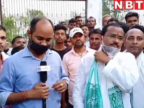 hasanpur vidhan sabha seat news jdu candidate raj kumar rai said tej pratap yadav will defeat in bihar chunav