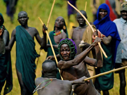 suri tribe of ethiopia where men have to fight for marriage
