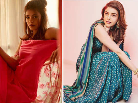 bride to be kajal aggarwal shares her beautiful pictures just ahead of her haldi and mehendi ceremonies