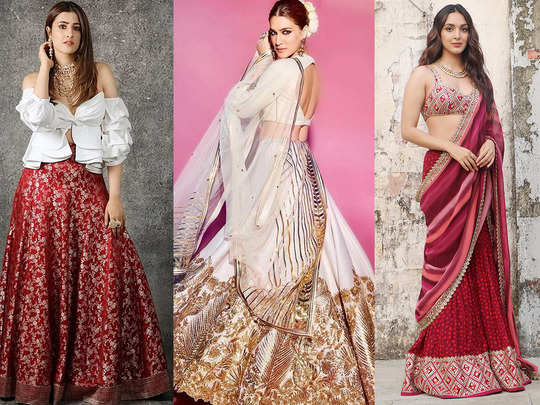 alia bhatt to shilpa shetty and nupur sanon inspired 3 ways to use your old lehenga with new look
