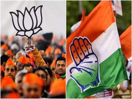 cong-BJP Flag