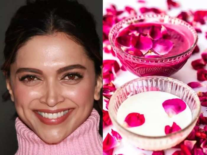 natural remedies for healthy skin rose water facial treatment at home in marathi