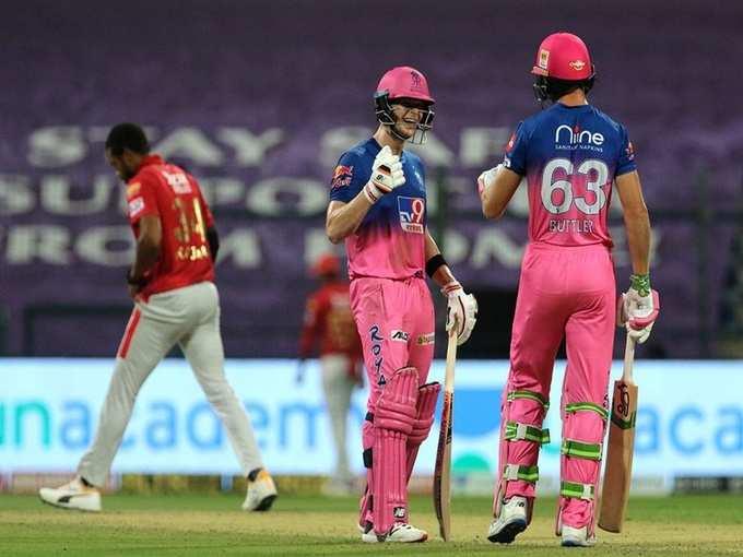 राजस्थान की शानदार जीत, स्मिथ-बटलर की धांसू पारी