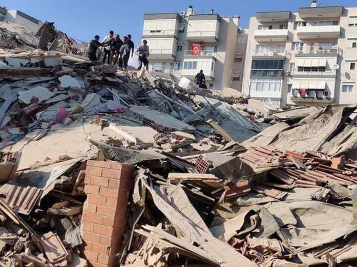 इझमिर भूकंप