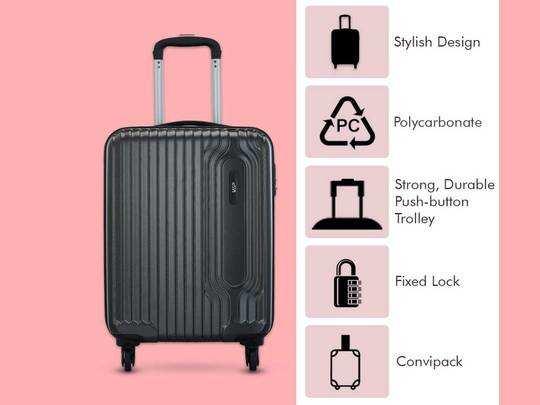Luggage Bags on Amazon : सफर हो जाएगा आसान, हैवी डिस्काउंट पर खरीदें यह ब्रांडेड Luggage Bags