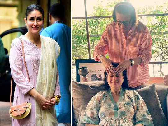 kareena kapoor enjoys her mother babita kapoor haath ka maalish know why pregnancy brings mother daughter more close