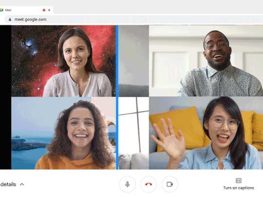 Google Meet Background
