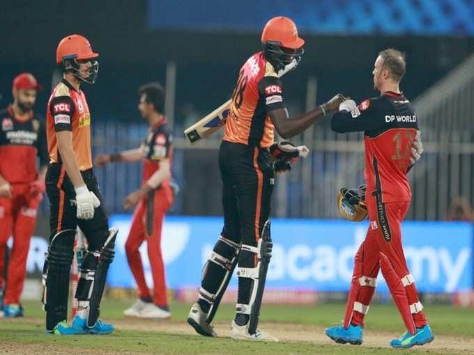 IPL 2020: हैदराबाद की धांसू जीत, पॉइंट टेबल में लगाई छलांग