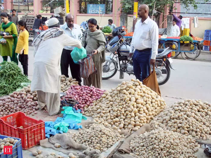 average retail price of potato up 92 percent and onion by 44 percent