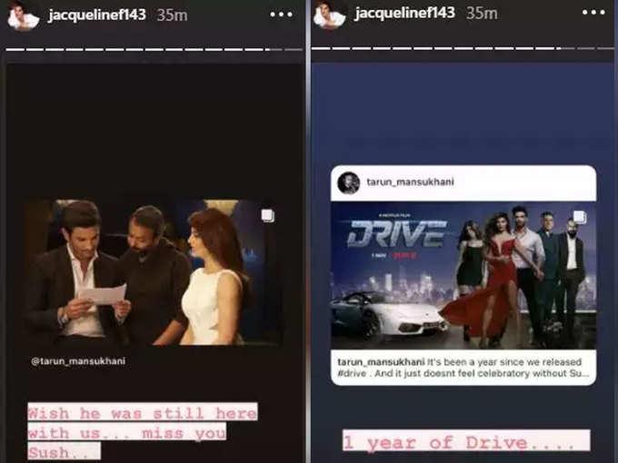 Jacqueline shared the photo