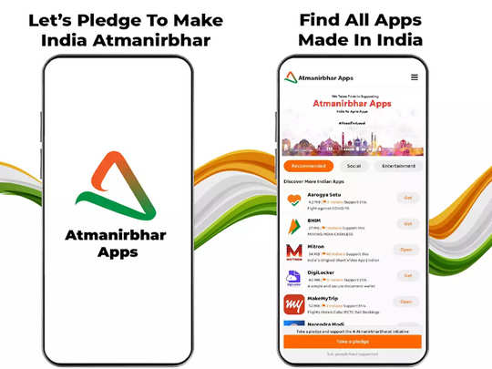 Atmanirbhar Apps by Mitron