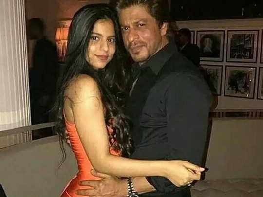 Suhana Khan wishes dad ShahRukh Khan