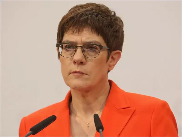 Annegret Kramp-Karrenbauer,