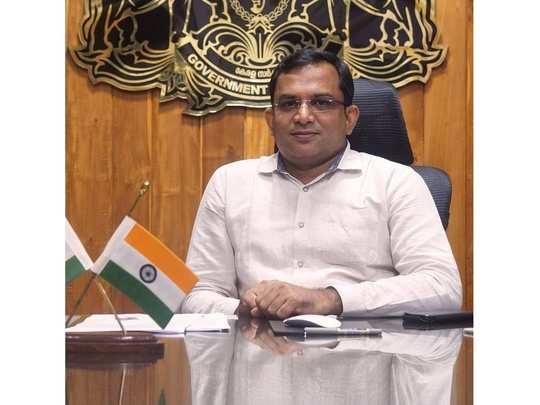 Malappuram District Collector K Gopalakrishnan