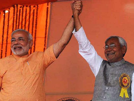 how nitish kumar break up with narendra modi has imprint on bihar assembly election