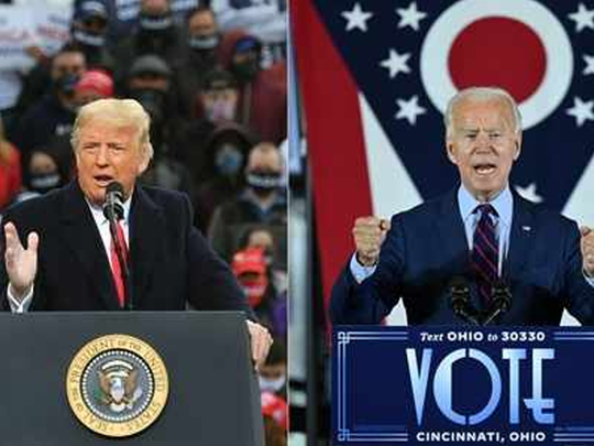 donald trump vs biden
