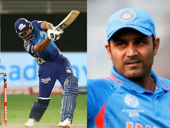 sehwag on rohit