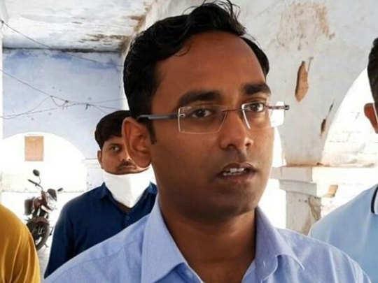 गाजीपुर एसडीएम प्रभास कुमार