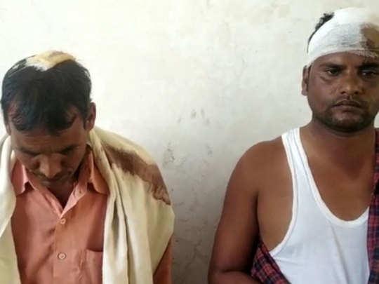 Injured dalit