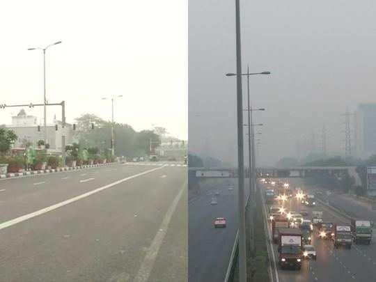 delhi ncr air quality index severe right before diwali