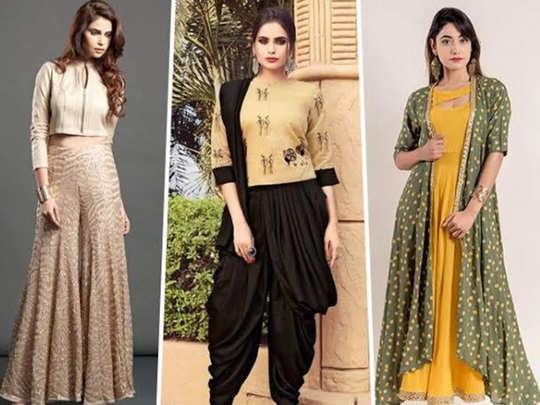 Diwali 2020 यंदा इंडोवेस्टर्न हिट! जाणून घ्या फॅशनमधील नवीन ट्रेंड