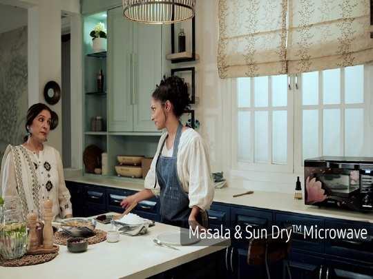 Neena Masaba Samsung Microwave