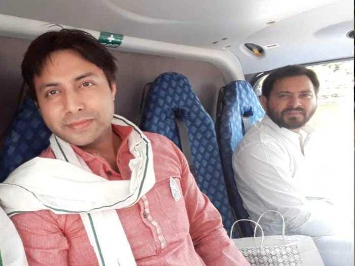 tejashwi yadav latest news : tejashwi yadav ke sath helicopter me ghumne wale rahul yadav kaun hain