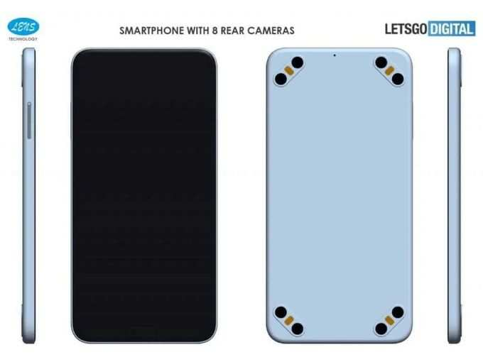 According to the latest report, smartphones with 8 rear cameras are ready to come.