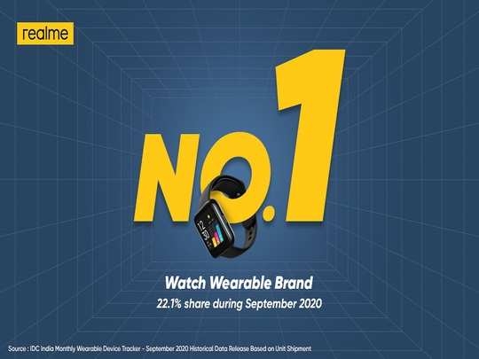 Realme Top Smartwatch Brand In India