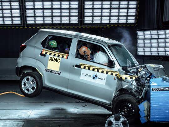Maruti Suzuki S-Presso crash test