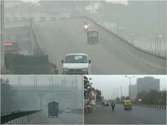 delhi ncr air quality level improves but still very poor, imd warns conditions worsening after diwali