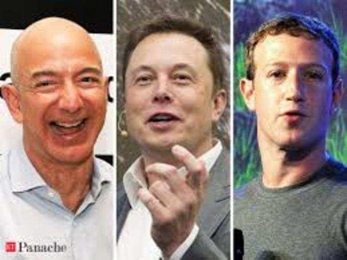 billionaires bezos, musk and zuckerberg rode the coronavirus storm to get even richer