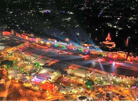 images of deepotsav 2020 in ayodhya