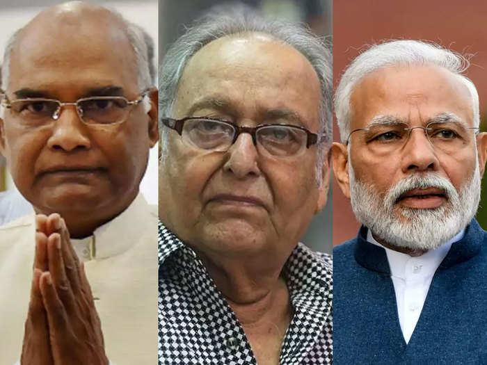 सौमित्र चटर्जी के निधन पर राष्ट्रपति और पीएम ने जताया दुख