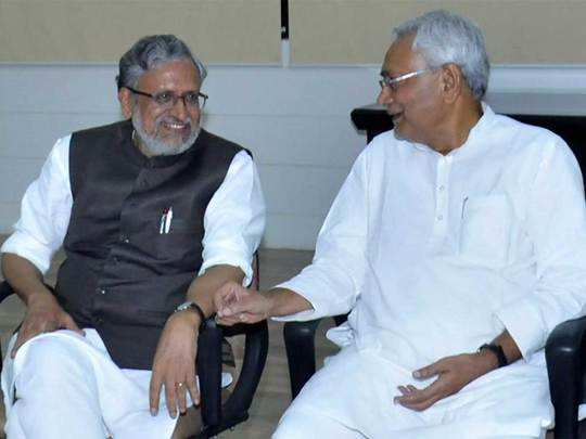 those events when sushil modi supported nitish kumar going against party line
